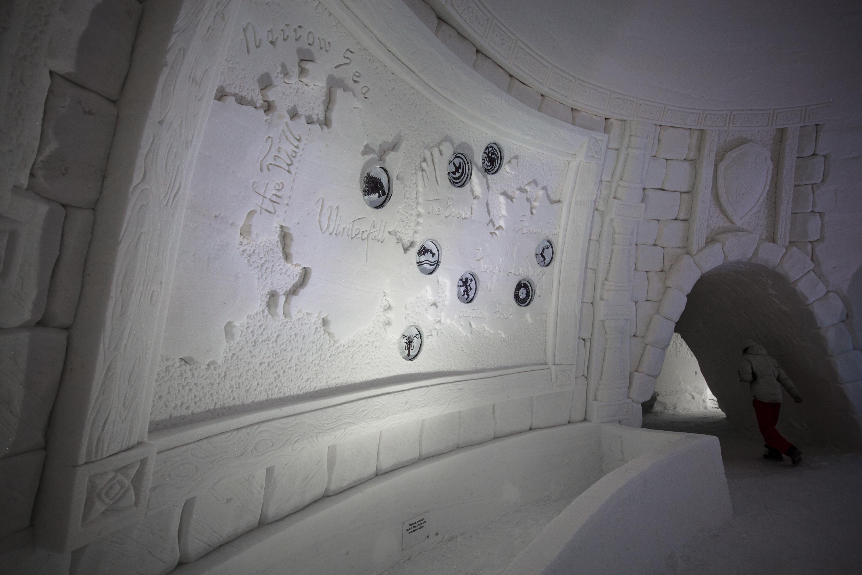В Финляндии открылся ледяной отель в стиле «Игры престолов» 2
