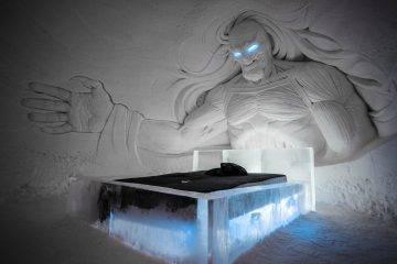 В Финляндии открылся ледяной отель в стиле «Игры престолов»