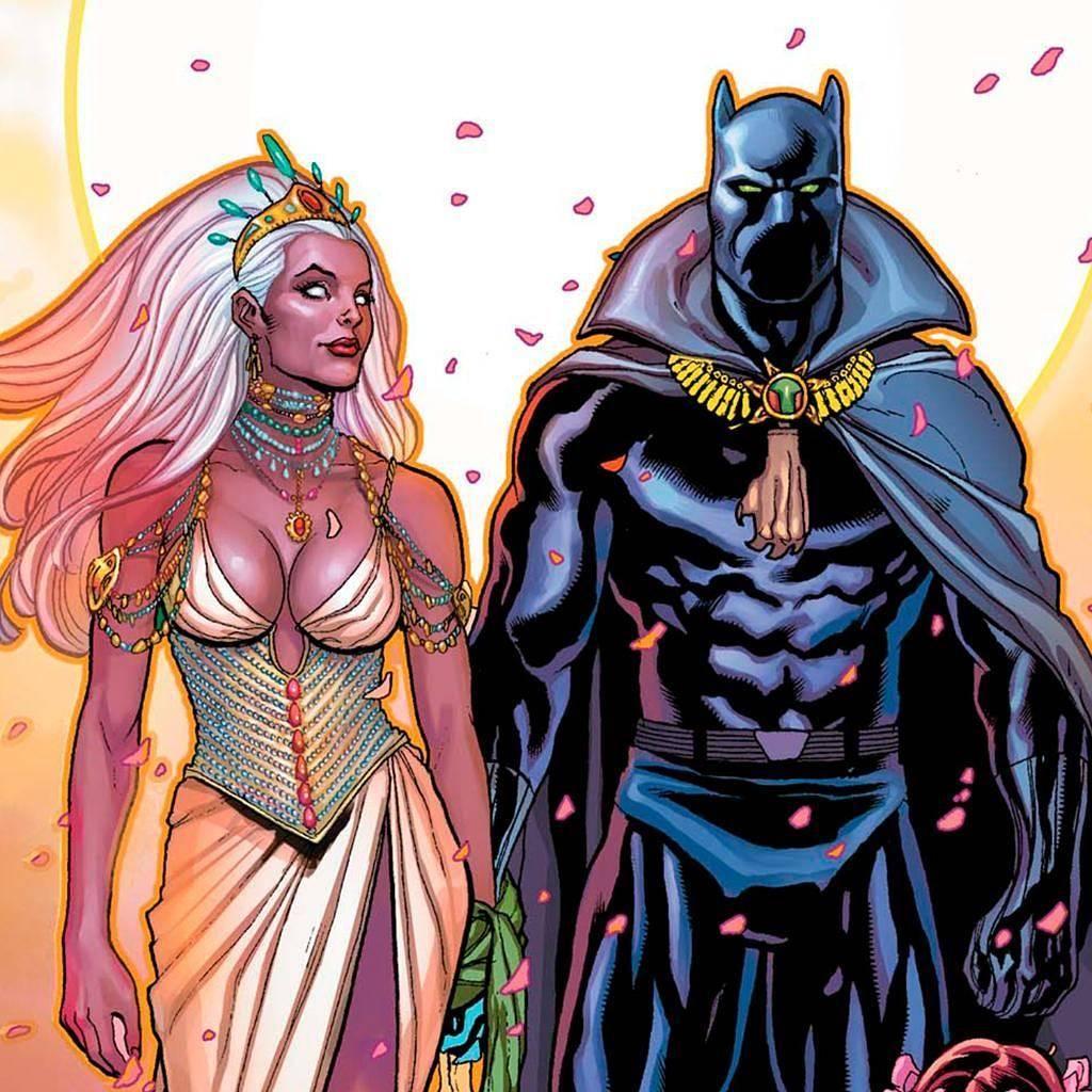 Чёрная Пантера в комиксах воевал с Ку-клукс-кланом и Фантастической четвёркой 17