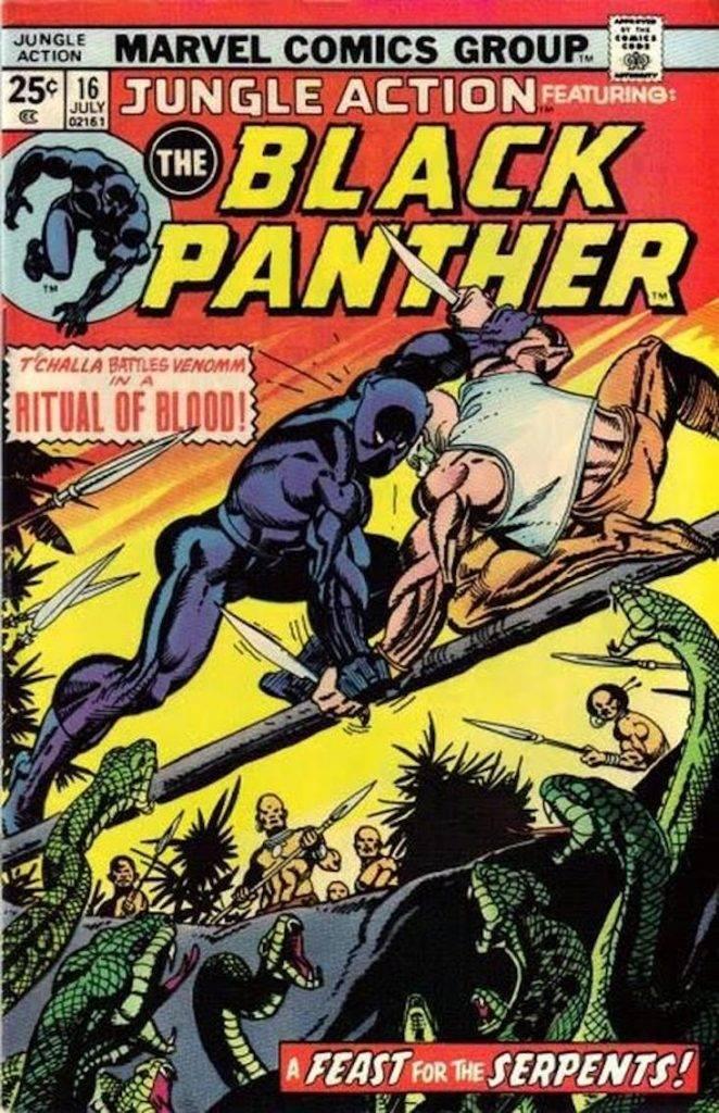Как Чёрная Пантера в комиксах воевал с Ку-Клукс-Кланом и Фантастической четвёркой