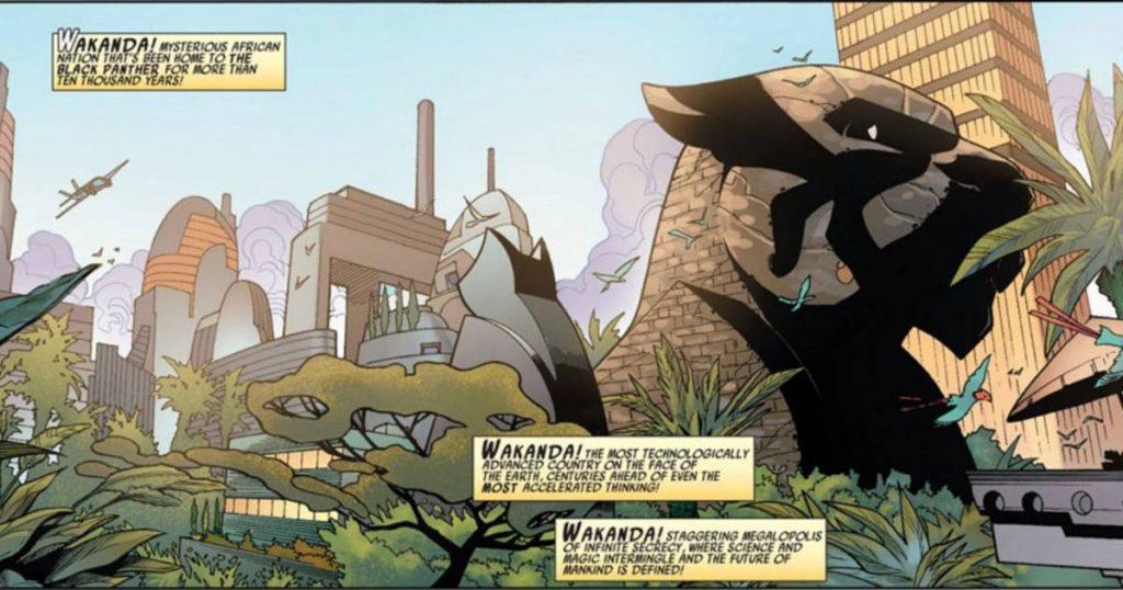 Чёрная Пантера в комиксах воевал с Ку-клукс-кланом и Фантастической четвёркой 18