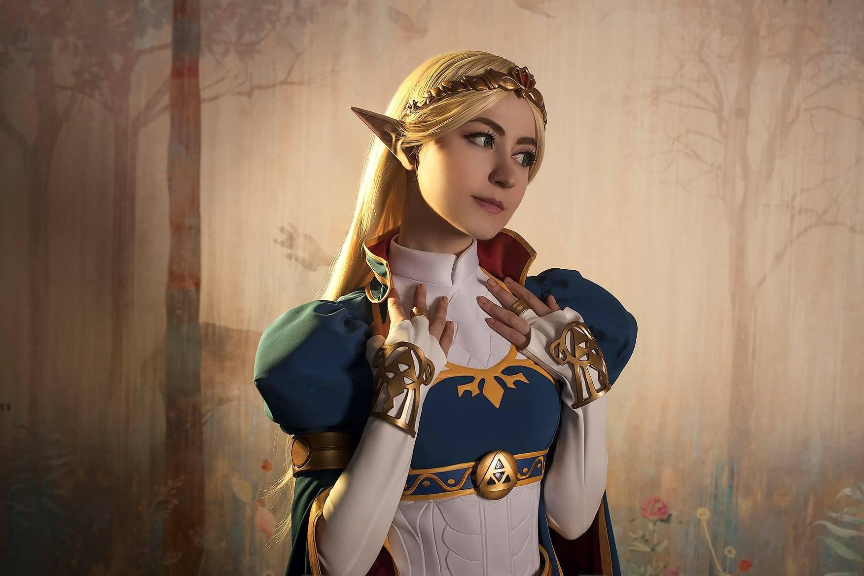 Лучший косплей: принцесса Зельда