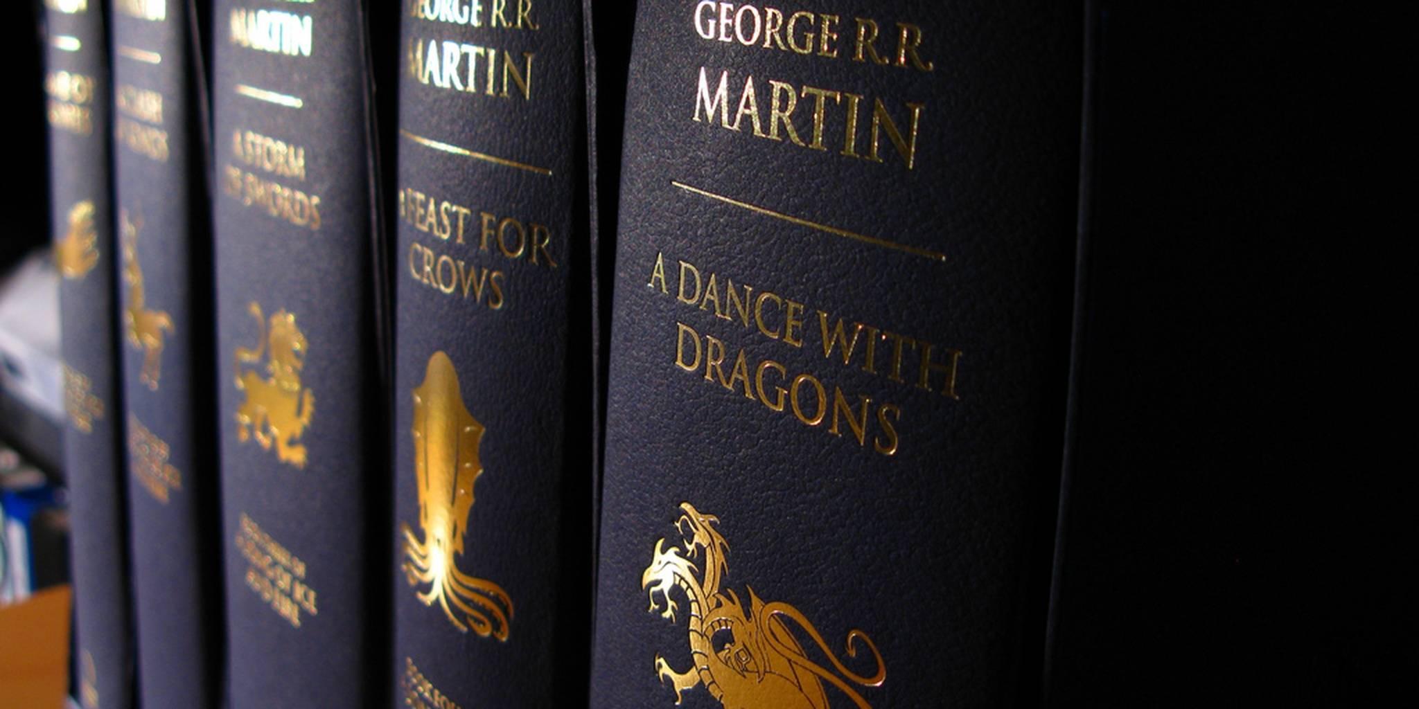 Джордж Мартин рассказал, когда выйдут «Ветра Зимы»