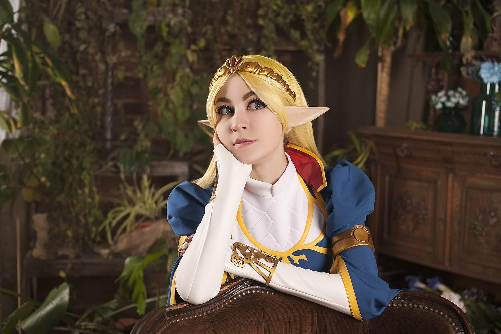 Лучший косплей: принцесса Зельда 5