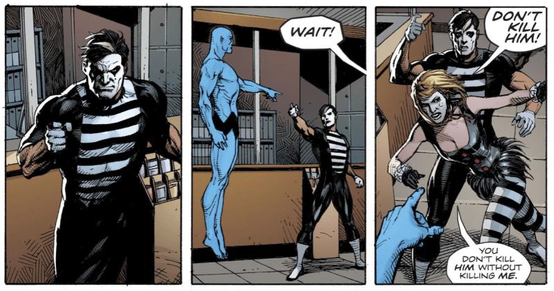 Как «Хранителей» вводят во вселенную DC: Doomsday Clock 8