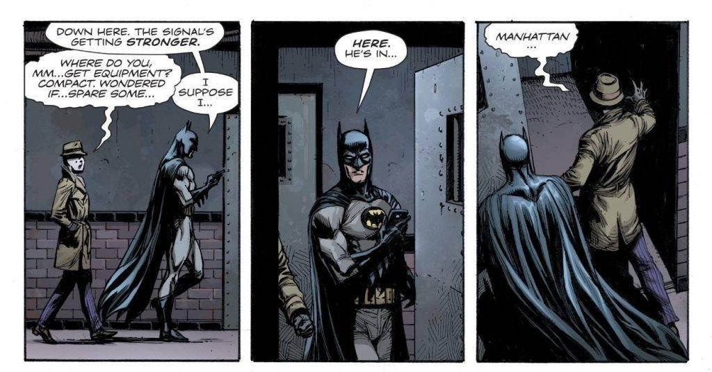 Как «Хранителей» вводят во вселенную DC: Doomsday Clock 11