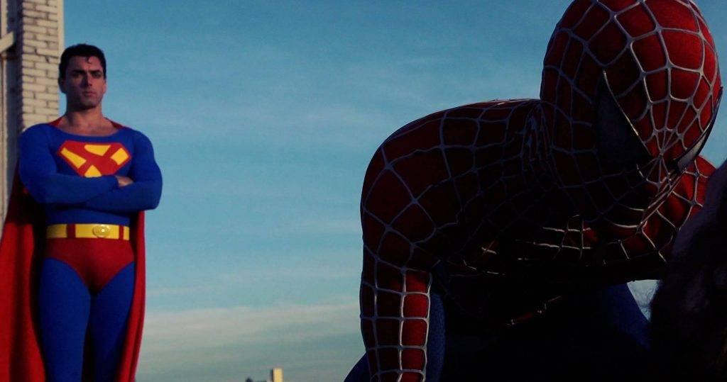Superman Vs. Spider-Man XXX