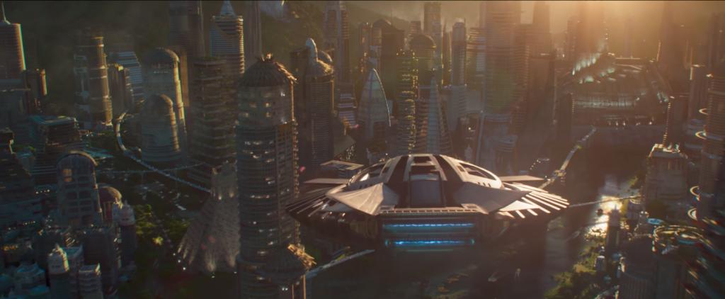 «Чёрная Пантера»: первая утопия от Marvel 7