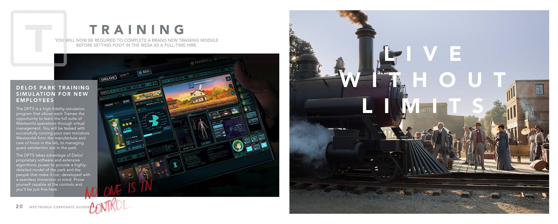 В трейлере «Мир Дикого Запада» нашли ссылку на сайт корпорации Delos
