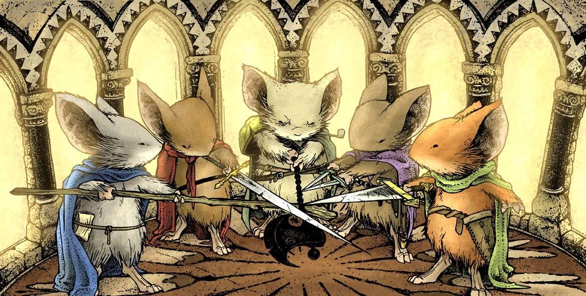 Обзор игры «Мышиная Стража». Храбрые маленькие герои 2