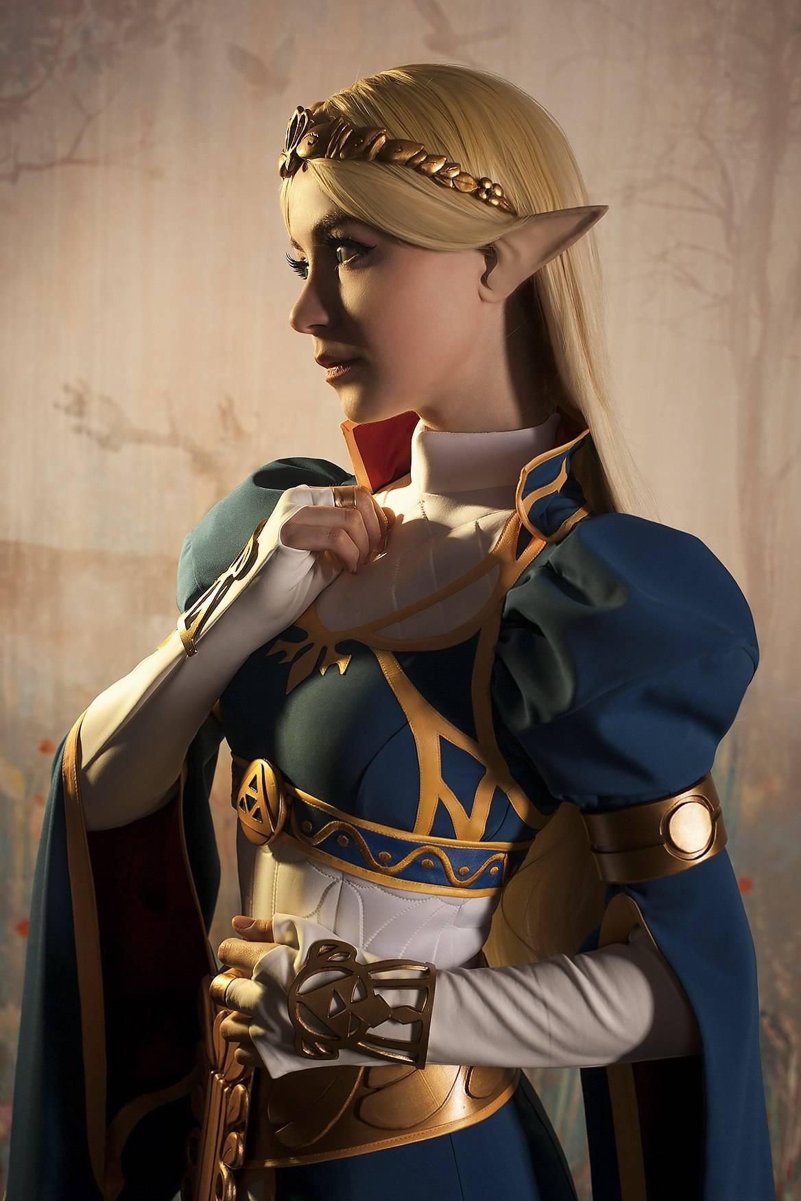 Лучший косплей: принцесса Зельда 8