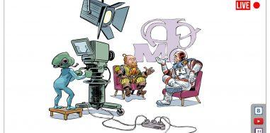 Книги бумажные или электронные? Посмотрите новый выпуск «Мир фантастики. Live №»