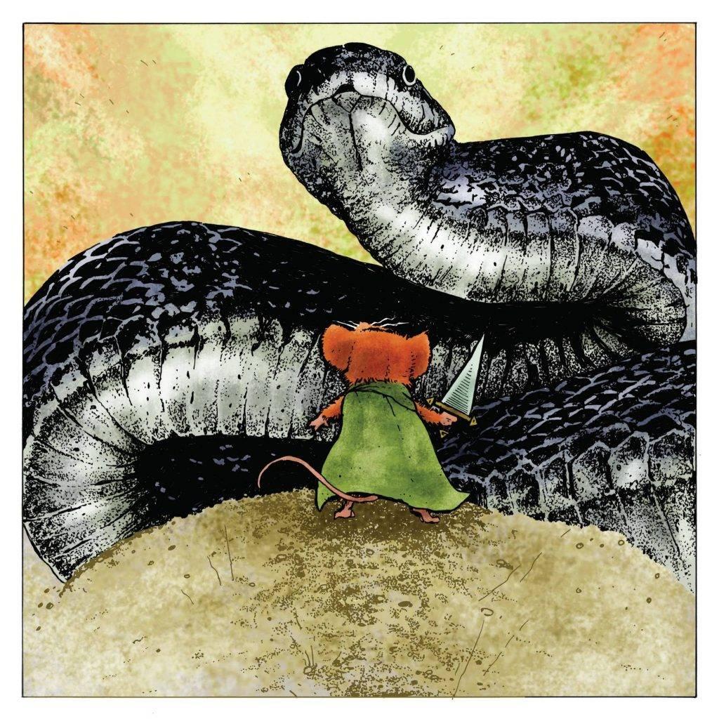 «Мышиная гвардия. Осень 1152» — Рэдволл для взрослых 1