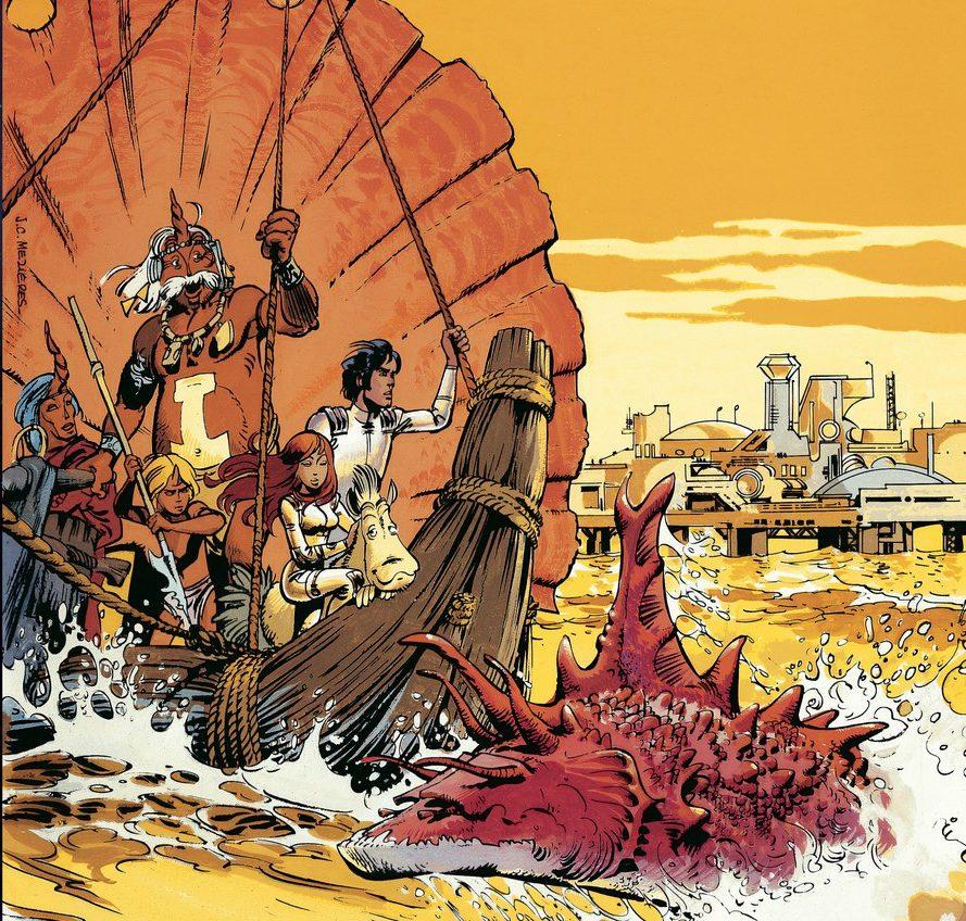 Комикс «Валериан», том 2: тут-то и начинается фантастика!