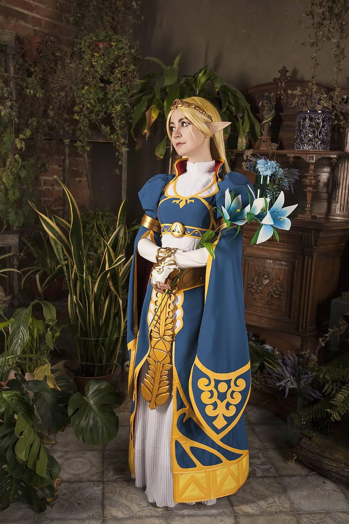 Лучший косплей: принцесса Зельда 7