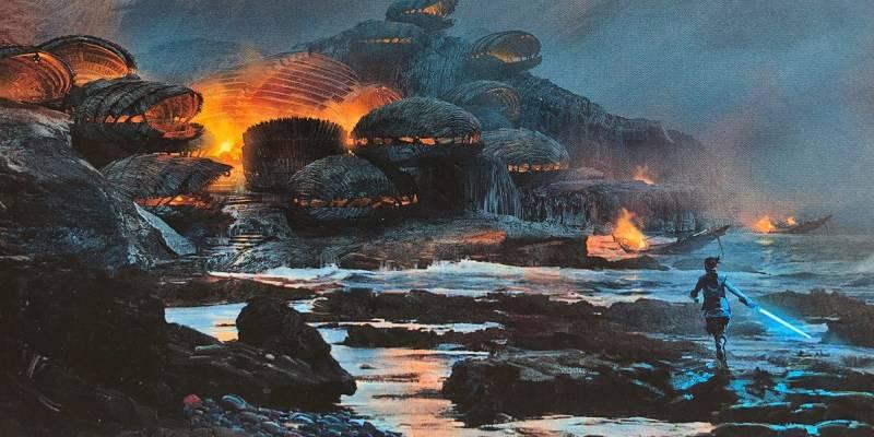 Райан Джонсон показал все вырезанные сцены из «Последних джедаев»