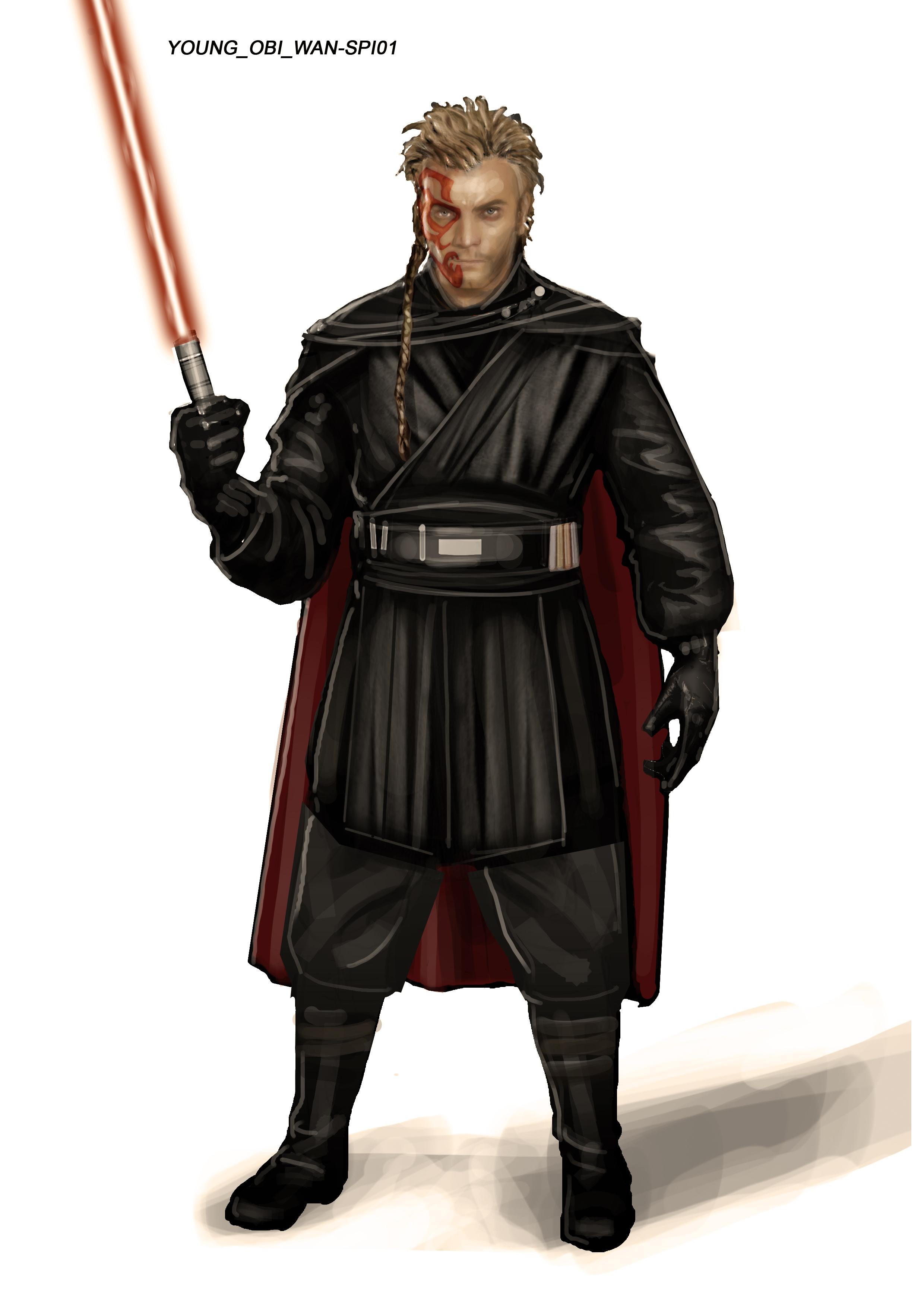 Арт: вот как выглядели бы Люк и Лея на Тёмной стороне и Дарт Вейдер — на Светлой 4