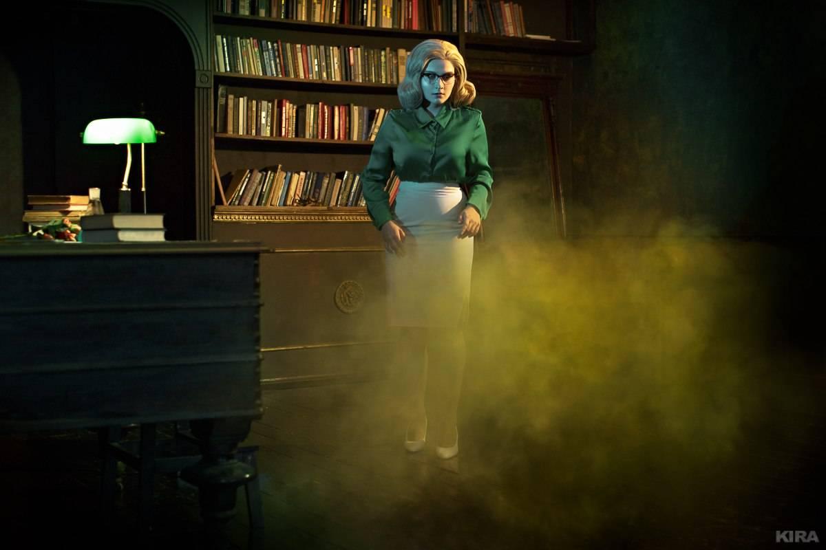 Лучший косплей: учёная-ботаник Джулия Лэнгфорд из игры BioShock 10