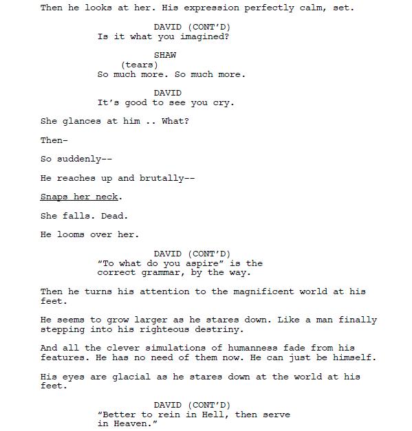 «Потерянный рай». Каким мог быть сюжет фильма «Чужой: Завет»? 7