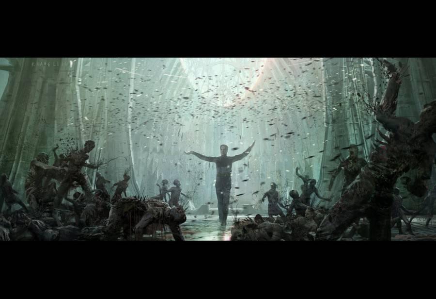 «Потерянный рай». Каким мог быть сюжет фильма «Чужой: Завет»? 50