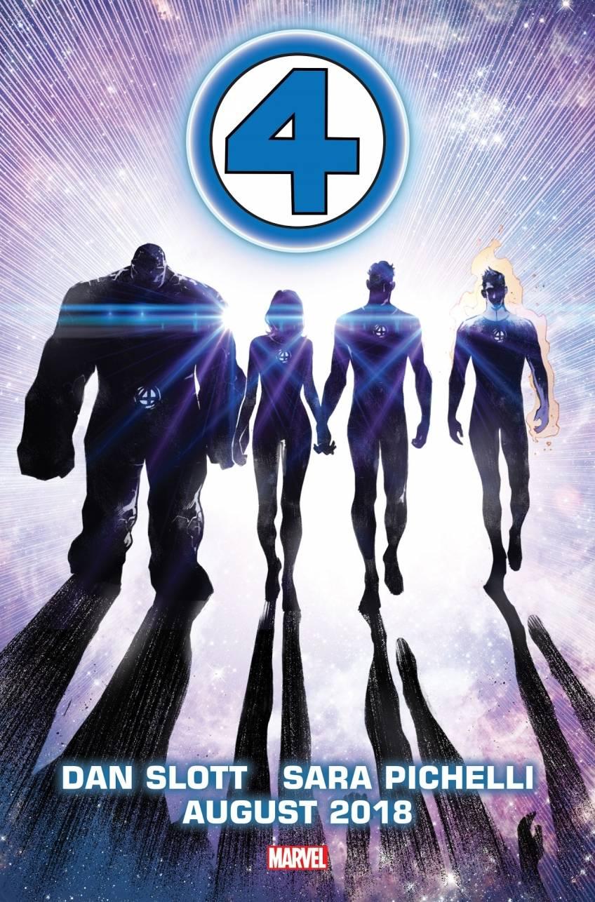 Marvel анонсировали новую серию про Фантастическую четвёрку 1