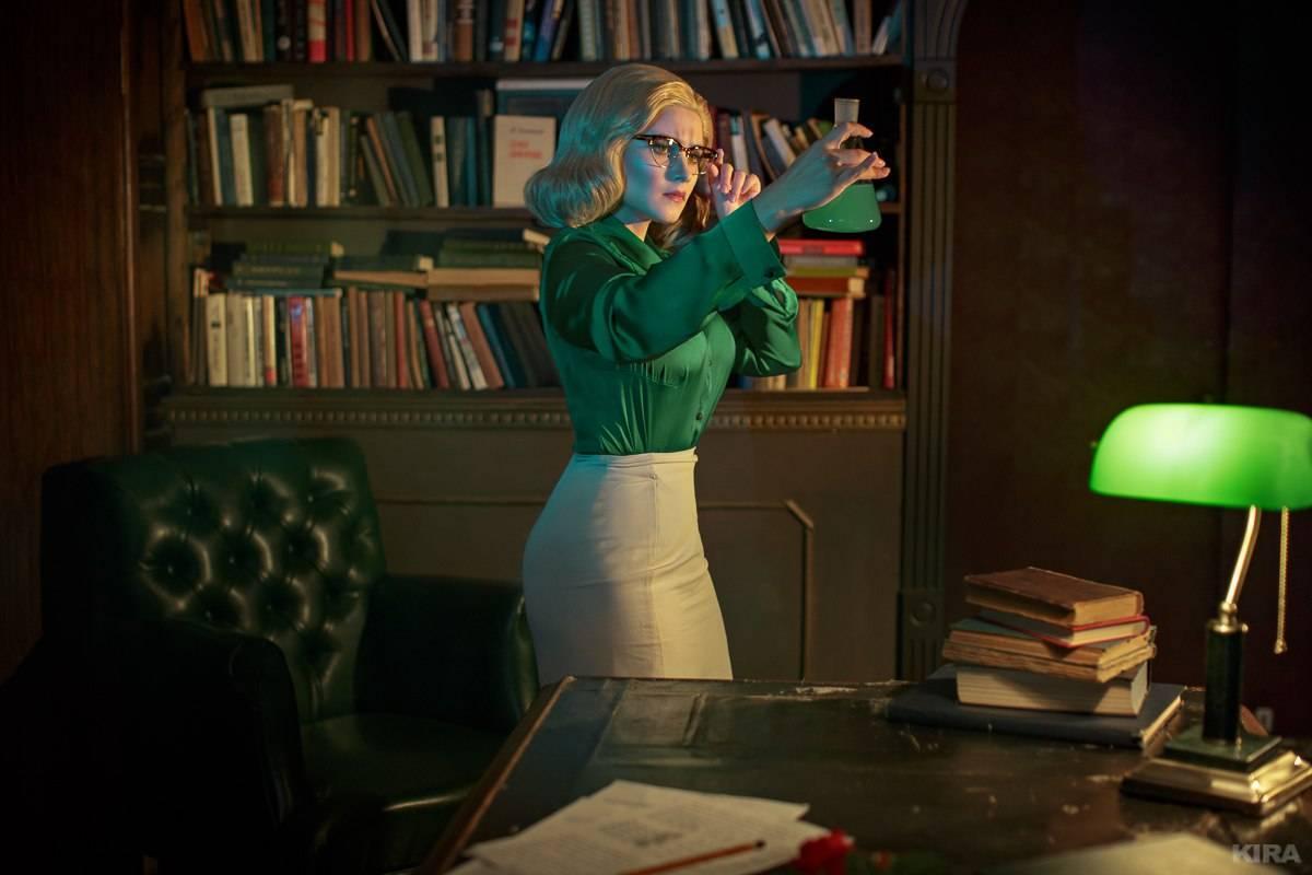 Лучший косплей: учёная-ботаник Джулия Лэнгфорд из игры BioShock