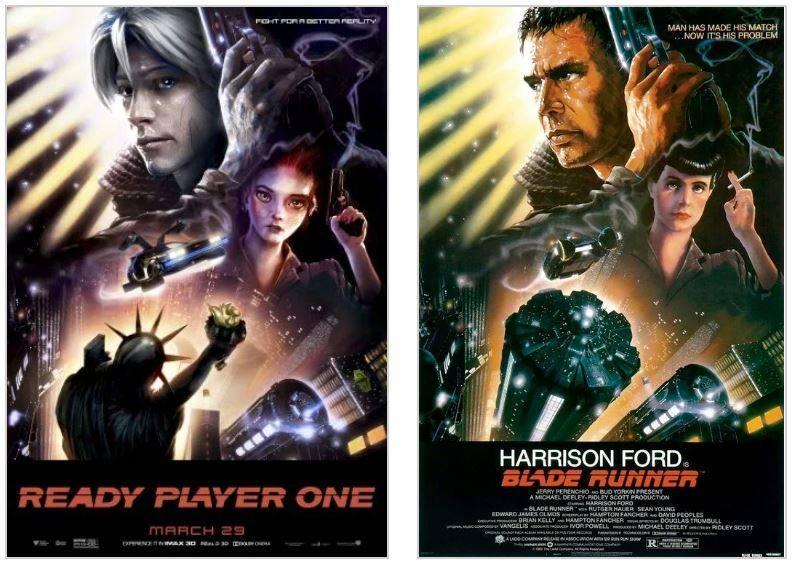 Арт: постеры-отсылки фильма «Первому игроку приготовиться» 11