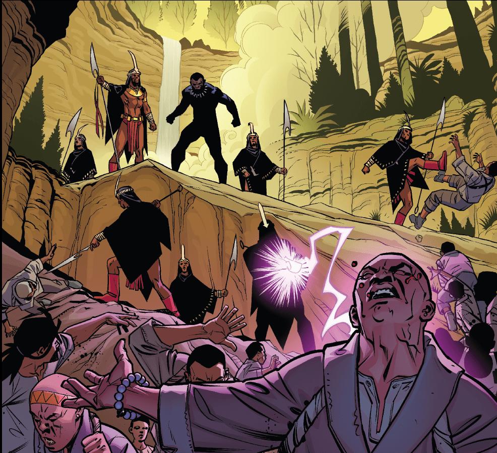 «Чёрная Пантера»: комикс против фильма