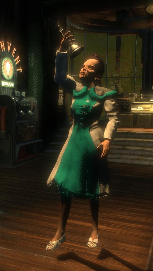 Лучший косплей: учёная-ботаник Джулия Лэнгфорд из игры BioShock 1