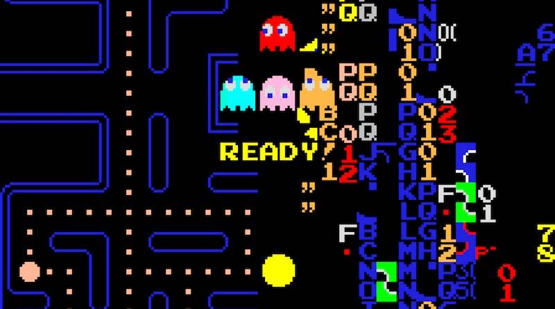 Pac-Man Kill screen