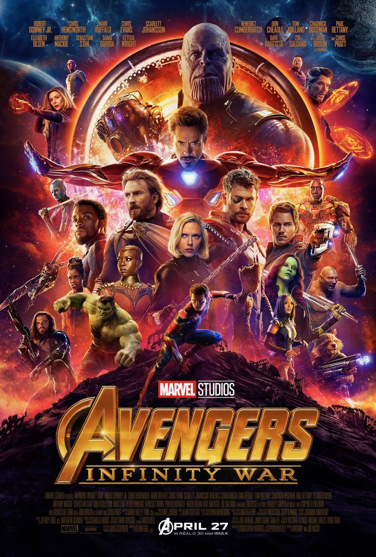 В Сети появился новый трейлер «Мстителей: Война бесконечности» 1