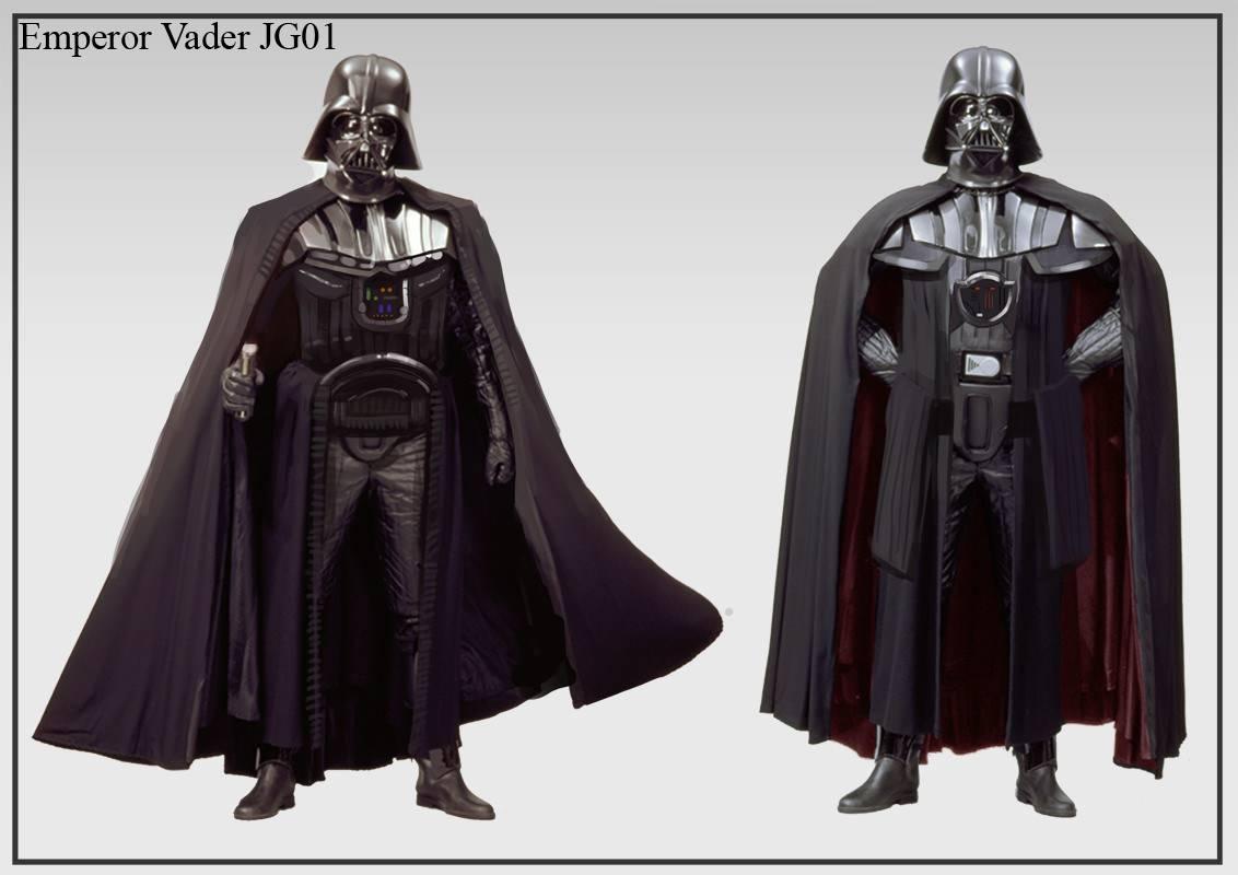 Арт: вот как выглядели бы Люк и Лея на Тёмной стороне и Дарт Вейдер — на Светлой 6