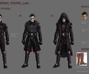 Арт: вот как выглядели бы Люк и Лея на Тёмной стороне и Дарт Вейдер — на Светлой 3
