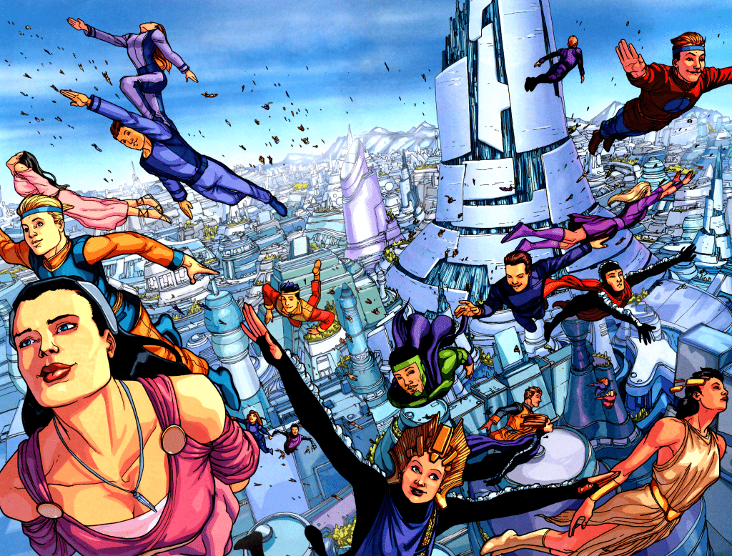 Криптон, родина Супермена. Какую планету развалили! 4