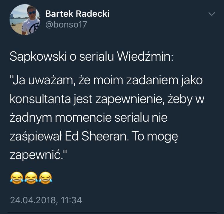 Сапковский рассказал о своей работе в качестве консультанта сериала «Ведьмак» 1