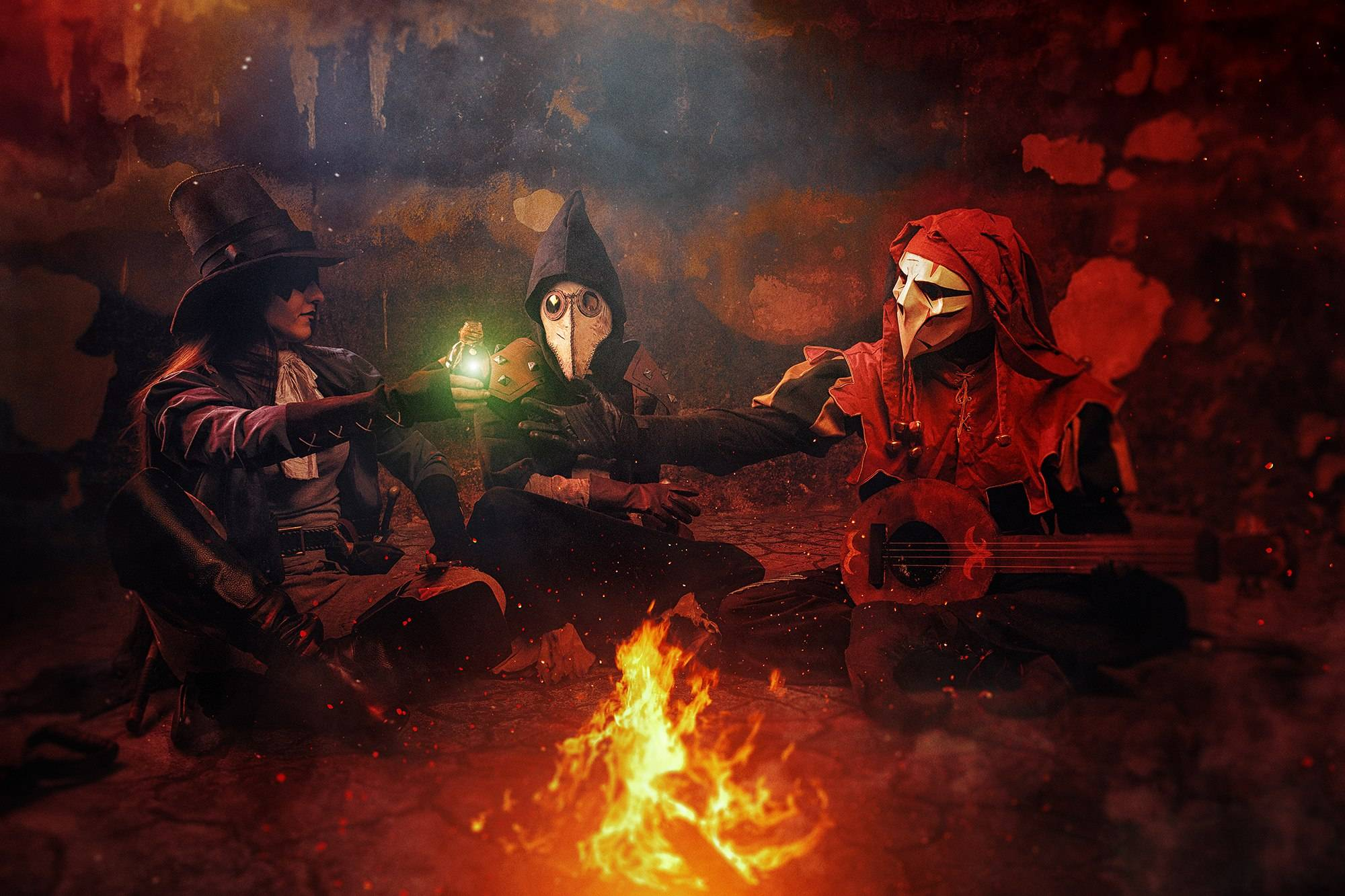 Лучший косплей: Darkest Dungeon и Dark Souls 14