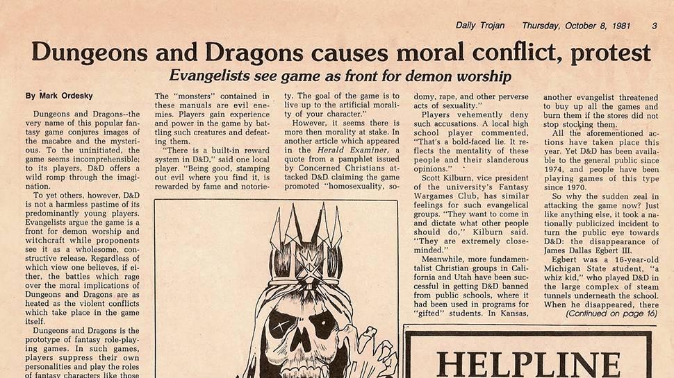 «D&D — это творческая отдушина»: Джо Манганьелло написал колонку о фэнтези и ролевых играх 1