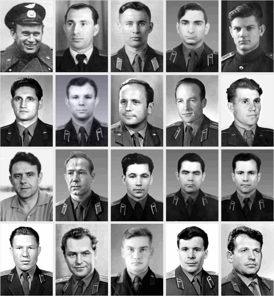 История первого отряда космонавтов 1
