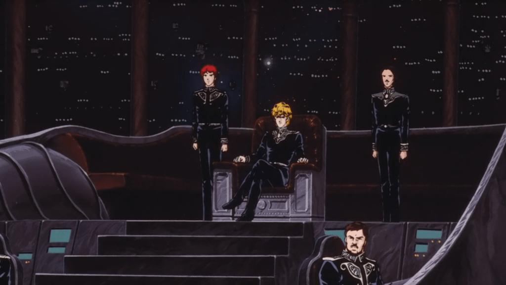 «Легенда о героях галактики»: грандиозный космический аниме-эпос 10