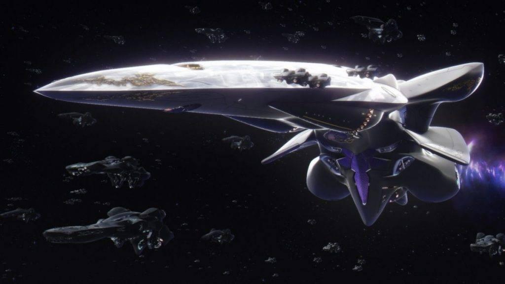 «Легенда о героях галактики»: грандиозный космический аниме-эпос 13
