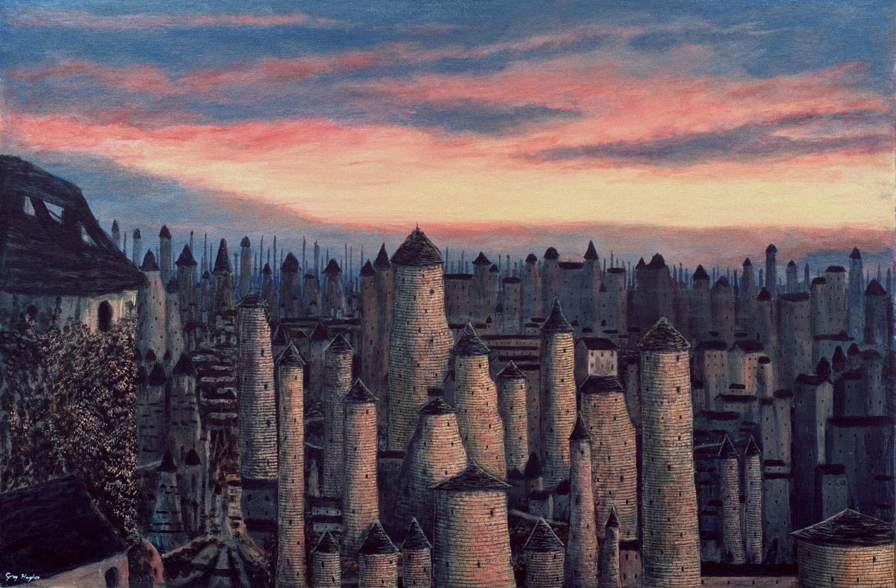 Нил Гейман выступит продюсером сериала по мотивам фэнтезийного цикла «Горменгаст»