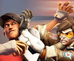 Короткометражка: Overwatch vs Team Fortress 2