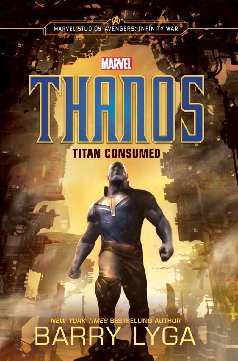 Осенью выйдет книга о предыстории Таноса 1