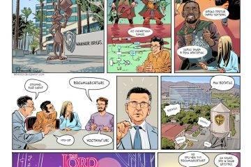 Комикс: Властелин ретро