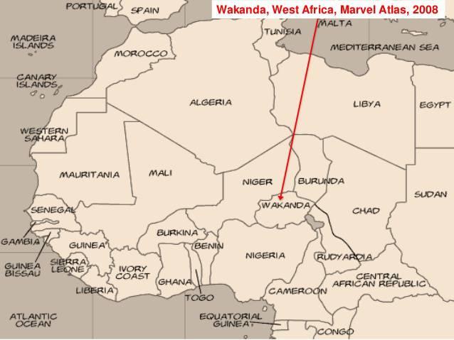 Путеводитель по несуществующим странам Marvel: Ваканда, Латверия, далее везде 21