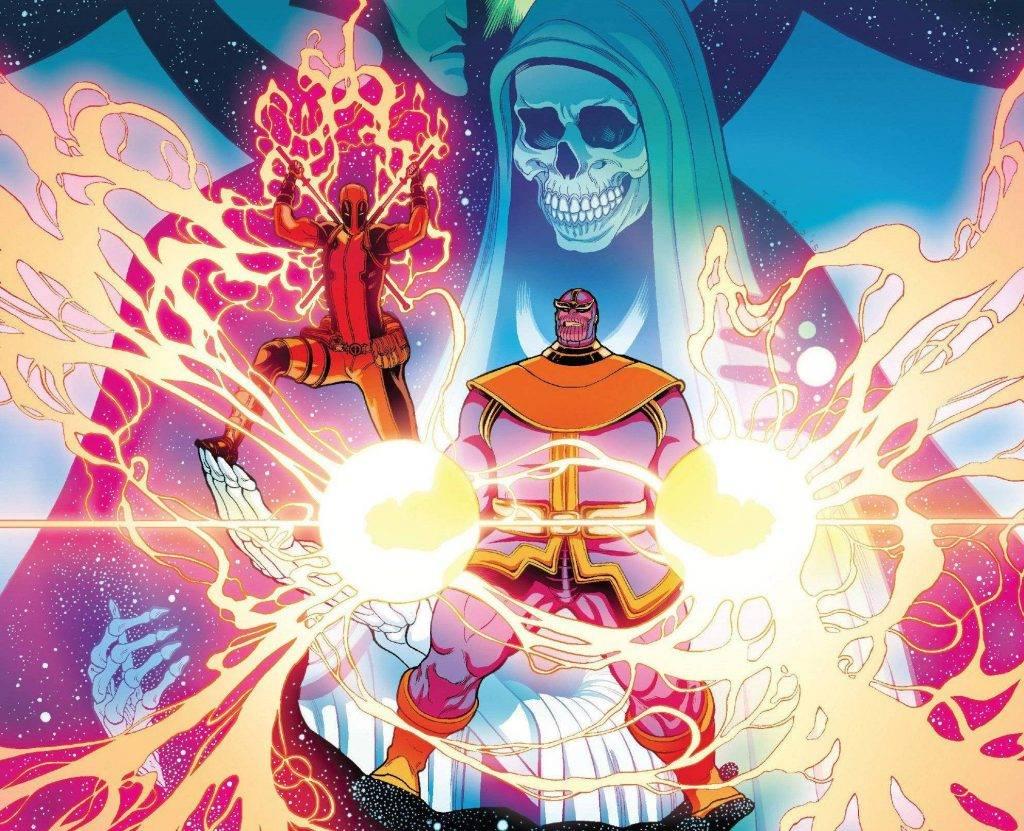 Как победить Таноса? Примеры из комиксов 8