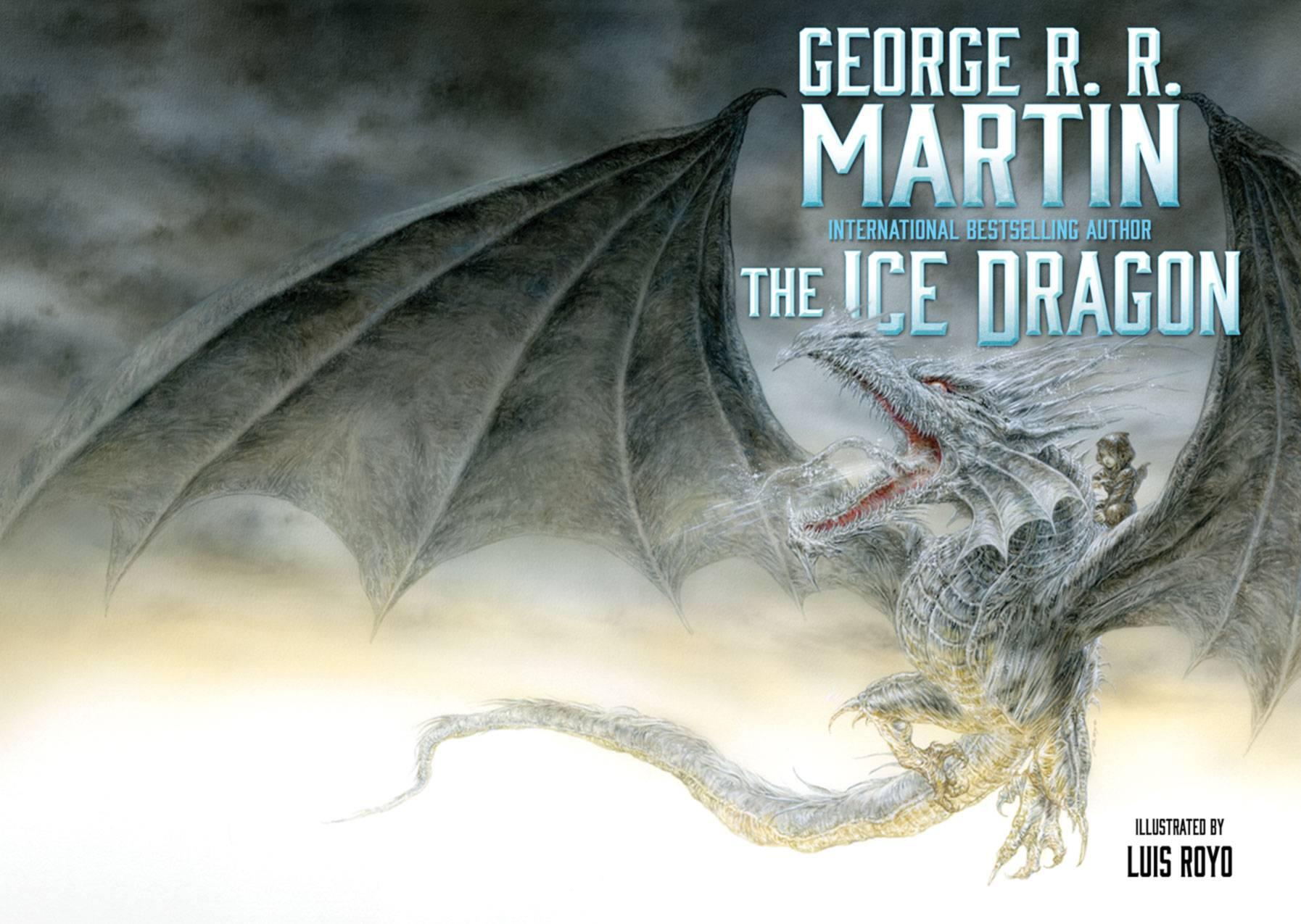 Джордж Мартин выступит продюсером мультфильма «Ледяной дракон» по его рассказу