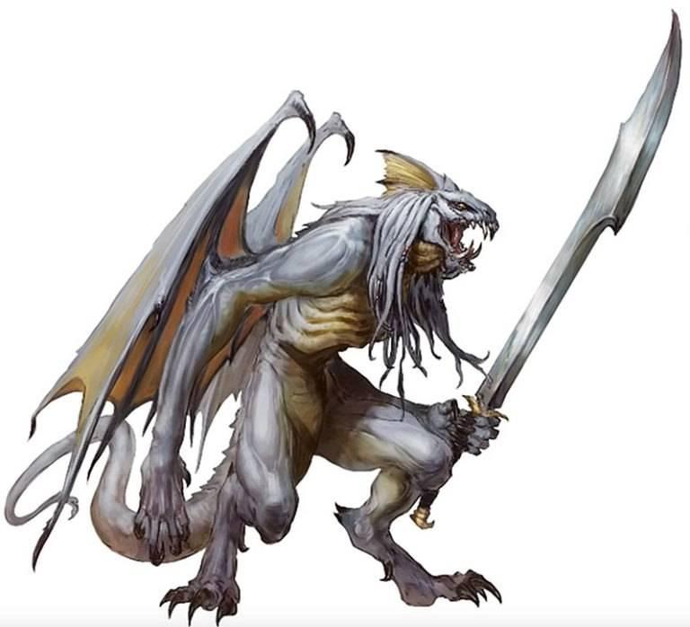 Арт: демоны, монстры и могущественный волшебник в новой книге Dungeons & Dragons 14