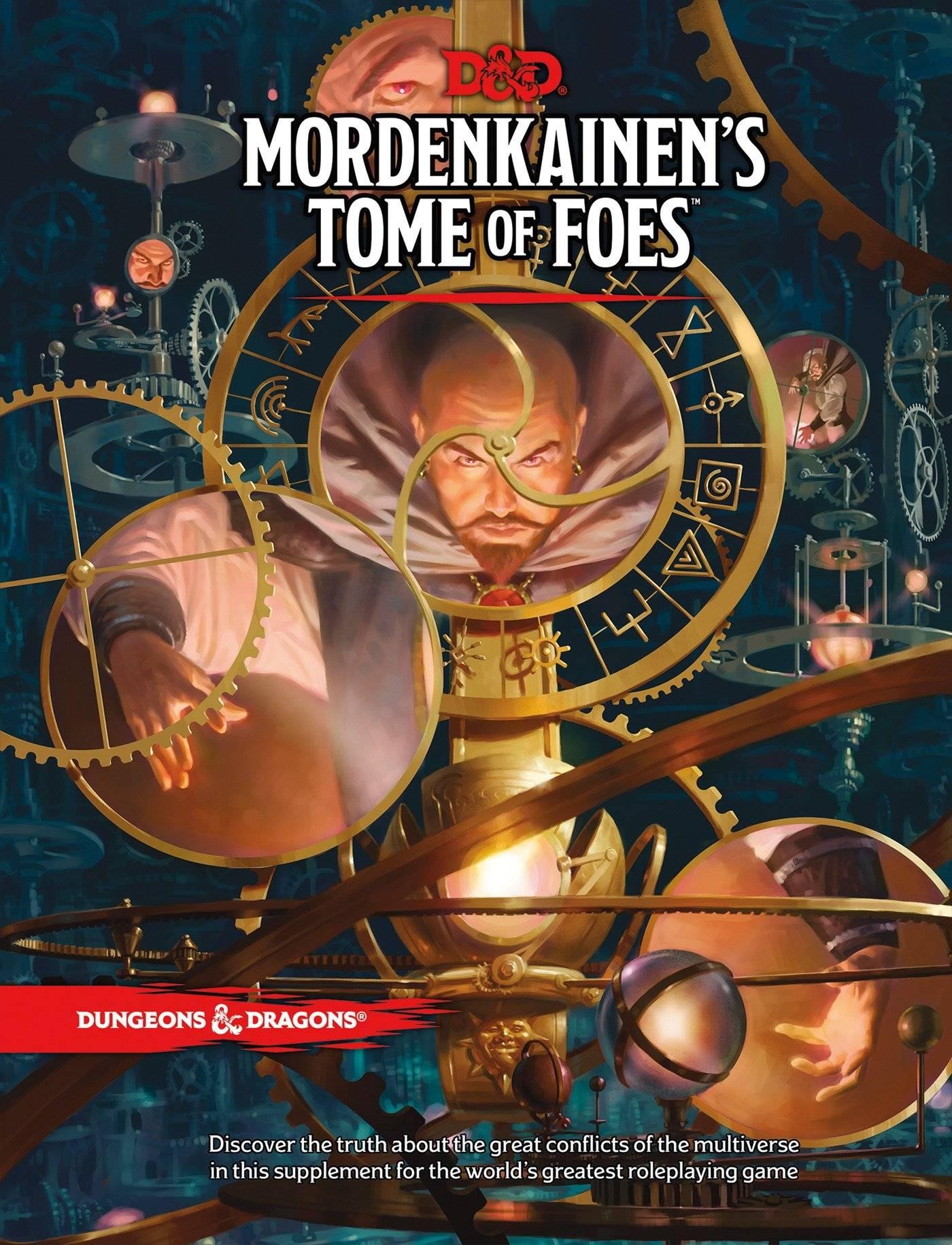 Арт: демоны, монстры и могущественный волшебник в новой книге Dungeons & Dragons 1