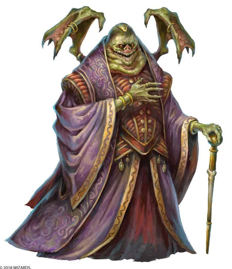 Арт: демоны, монстры и могущественный волшебник в новой книге Dungeons & Dragons 9